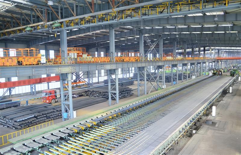 抗震钢筋生产线
